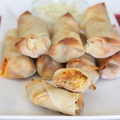 Buffalo Chicken Rolls - and trying to find some kitchen motivation!