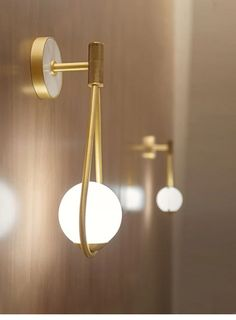 Wall-mounted lights can be utilized in several methods. You should utilize them to gentle up hallways, stairways, or purchase in pairs to spotlight wall Bedroom Wall, Bedroom Sconces, Glass Wall Lights, Gold Home Decor, Chandelier In Living Room, Modern Stairs, Wall Mounted Light, Modern Bedroom, Minimalist Bedroom