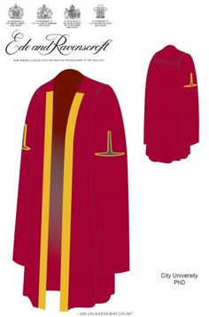 Explanation and illustrations of the academic dress worn at graduation ceremonies at City, University of London. Phd Graduation, Medical Council, Gowns, Skirts, Cloak, Google Search, Design, Dress, Image