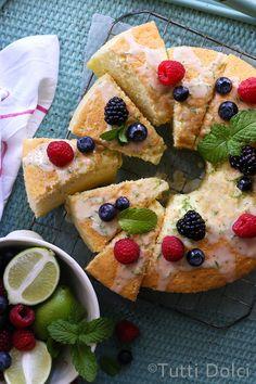 Lime Chiffon Cake |
