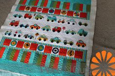 Piece N Quilt: Car Quilts ~ Quilts for Little Boys