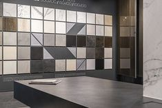 The new Ariostea Napoli showroom is located in Agnano, very close to Naples, in an extremely productive and lively area. Showroom Interior Design, Tile Showroom, Creative Workshop, Naples, Wall Tiles, Storage, Studio Design, Accent Walls, Logo