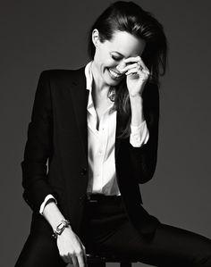 Angelina Jolie foe Elle magazine 2014
