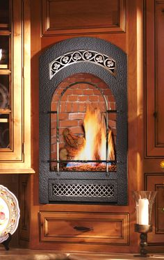 Small Wall Mounted Gas Fireplace Great For Bedrooms Baths B Model By Fpx. Gas Wall Fireplace, Natural Gas Fireplace, Propane Fireplace, Small Fireplace, Bedroom Fireplace, Fireplace Design, Cleaning Brick Fireplaces, Gas Fireplaces, Small Electric Fireplace