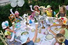 Doll Tea Party MUST do for Haylee's half birthday!