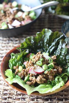 Hoisin & Five Spice Pork Lettuce Wrap by seasonwithspice #Lettuce_Wraps #Pork #Hoisin
