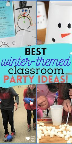 Host a classroom holiday party in your kids' classrooms or scout groups with low-prep, low-mess, low-cost games, activities, and crafts from Coffee and Carpool. Kindness Activities, Party Activities, Fun Activities For Kids, Indoor Activities, Winter Fun, Winter Theme, Kindness Challenge, Holiday Parties, Boredom Busters