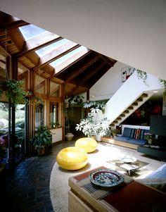 interior Worthington House - Boulder, CO - Carl Worthington Assoc.