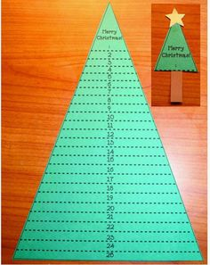 Let's Trim The Tree & Santa's Beard To Countdown To Christmas - Classroom Freebies Christmas Countdown Crafts, Christmas Tree Advent Calendar, Hanukkah Crafts, Christmas Writing, Christmas Tree And Santa, Christmas Alphabet, Santa Crafts, Christmas Ornament Crafts, Christmas Colors