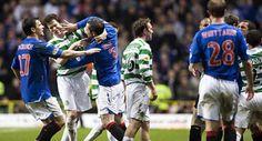 The old firm Celtic vs Glasgow Rangers
