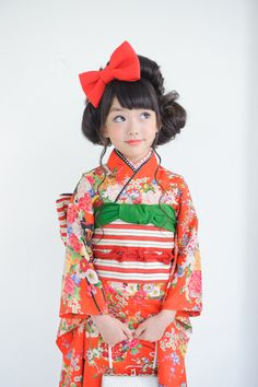 Japanese kimono little girl. #japan #kimono