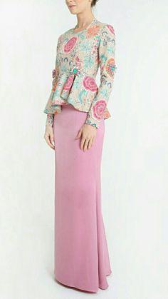 PINTEREST: @MUSKAZJAHAN - Muslim Fashion, Modest Fashion, Fashion Dresses, Batik Dress, Blouse Dress, Kebaya Modern Dress, Hijab Style Dress, Batik Fashion, Muslim Dress