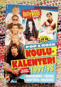Nuoruusdisko: Koulukalenteri (ja ihastustunnustuksia) vuodelta 1997