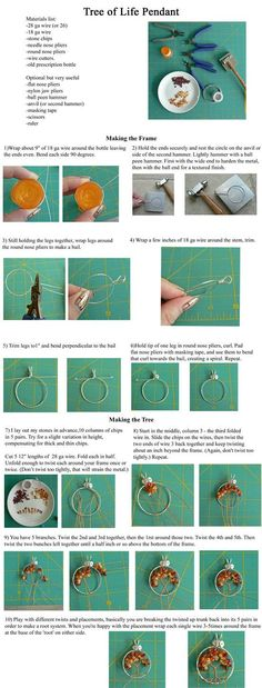Tree of Life Pendant Tutorial