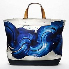 James Nares tote for Coach.