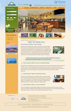 Box per la prenotazione subito visibile sul lato sinistro della pagina principale.