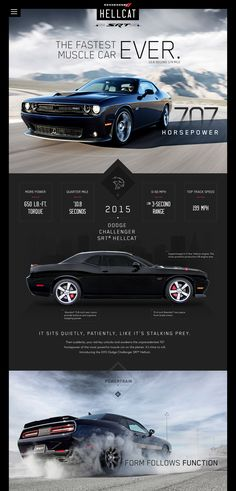 Dodge Challenger Hellcat Redesign by Jason Kirtley Web Design, Design Ideas, Design Inspiration, Us Cars, Sport Cars, My Dream Car, Dream Cars, Muscle Cars, Dodge Challenger Hellcat