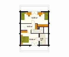 3 cabañas de madera que vas a querer para tí (+planos)   homify Small Wooden House, House Plans, Floor Plans, Diagram, How To Plan, Architecture, House Styles, Ideas, Kiosk