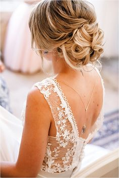 Belle and Lace Stunning Back Dress | Image by Olga Costa Photography