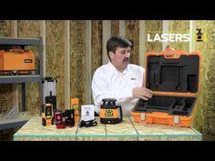 Johnson Level 40-6535 & 40-6536 Electronic Self-Leveling Horizontal Rotary Laser - YouTube
