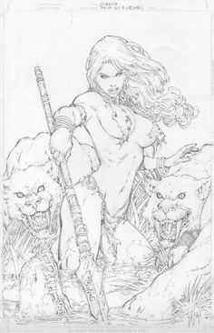 Shanna by Ed Benes