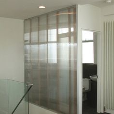 Interior polycarbonate walls! Light, light, light--and privacy too.