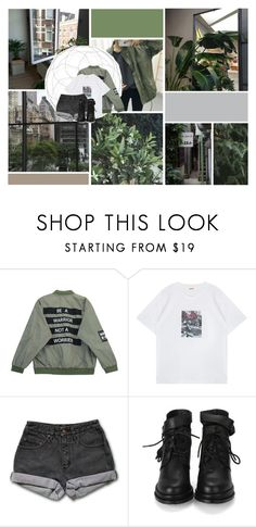 """""""We Don't Talk Anymore"""" by antisocial-vagabond ❤ liked on Polyvore featuring GET LOST, Chicnova Fashion and PèPè"""