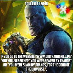 Top Thanos Inspirational Quotes From Avengers: Infinity War Marvel Facts, Marvel Jokes, Avengers Memes, Marvel Funny, Marvel Dc Comics, Marvel Heroes, Marvel Avengers, X Men, Infinity War Memes