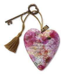 Friends are Flowers art Heart at Fiddlesticks