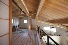 天井の梁や板もいいね。