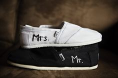 Mr. and Mrs. // shoes  TOMS  One for One fashion style