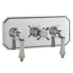 Bensham horizontal thermostatic shower bath valve