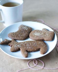 gingerbread cookies-My kiddo asked me why we have never made these...Didn't have a recipe. Now what's my excuse.