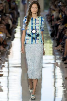 A less attractive world at Tory Burch.. NY Fashion Week