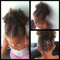 Astonishing Children Hair Buns And Natural Hair Tips On Pinterest Short Hairstyles For Black Women Fulllsitofus