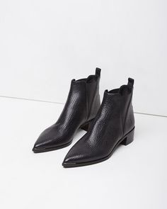 ACNE Studios Jensen Pointy Ankle Boots aka my dream shoes Bootie Boots, Shoe Boots, Shoes Heels, Shoes Sneakers, Men's Boots, Louboutin Shoes, Converse Shoes, Adidas Shoes, Christian Louboutin