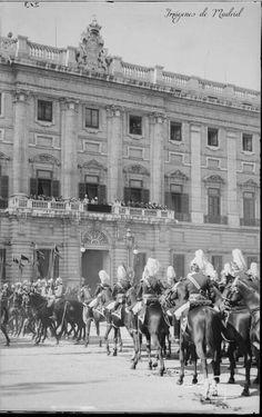 Desfile de la Guardia 1927-36 Antonio Passaporte