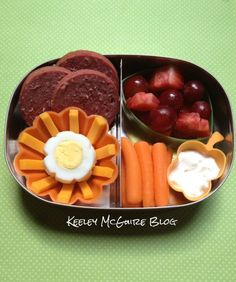 Thumbs up. Relatively simple but very pleasing.  ...Lunch Made Easy: Bite Size Bento   @LunchBots