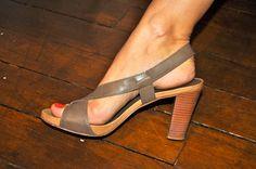 Sandales à talons UNISA Taupe - 15€