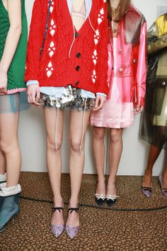 Fall-Winter 2014 Backstage - Fall-Winter 2014 - Miu Miu Addict