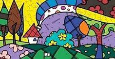 Resultado de imagen para imagenes de pinturas de romero britto