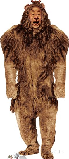 Cowardly Lion - The Wizard of Oz 75th Anniversery Lifesize Standup Cardboard Cutouts at AllPosters.com