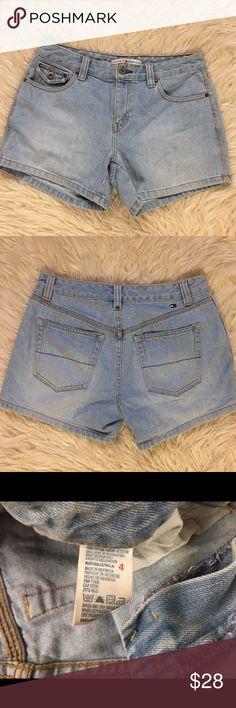 Vintage Tommy Hilfiger Jean Shorts Vintage Tommy Hilfiger Jean Shorts. Size 4. In great condition. (AB) Tommy Hilfiger Shorts Jean Shorts