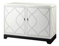 IKEA Hack: Nailhead pattern cabinet | First Sense