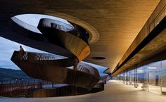 Archea Architects' Headquarters for Antinori Winemakers - just been there - fantastic! www.alidifirenze.fr