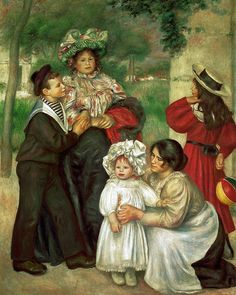 the artists family Pierre Auguste Renoir art for sale at Toperfect gallery. Buy the the artists family Pierre Auguste Renoir oil painting in Factory Price. Pierre Auguste Renoir, Jean Renoir, Edouard Manet, Claude Monet, August Renoir, Barnes Foundation, Renoir Paintings, Paul Cézanne, Impressionist Artists
