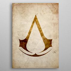 Assassins Creed poster by from collection. By buying 1 Displate, you plant 1 tree. Gaming Posters, Game Logo, Assassins Creed, New Artists, Cool Artwork, Trees To Plant, Vintage Looks, Unity, Poster Prints