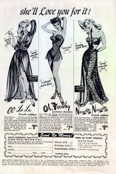 New item in my etsy shopShe'll love you for it - Vintage lingerie advertisement 1952 reproduction by PanchromaticaDesigns. Find it here http://ift.tt/1Q0E9Pl