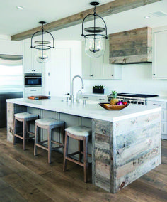 Cool And Contemporary wood countertops black cabinets only in home like art design
