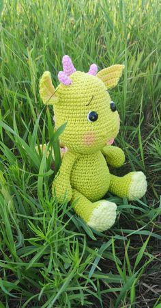 Crochet Unicorn Pattern, Plush Pattern, Crochet Toys Patterns, Amigurumi Patterns, Stuffed Toys Patterns, Crochet Ideas, T Rex, Doll Toys, Dinosaur Stuffed Animal